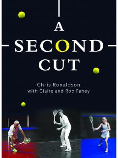"""Cover of Chris Ronaldson's book """"A second cut"""""""